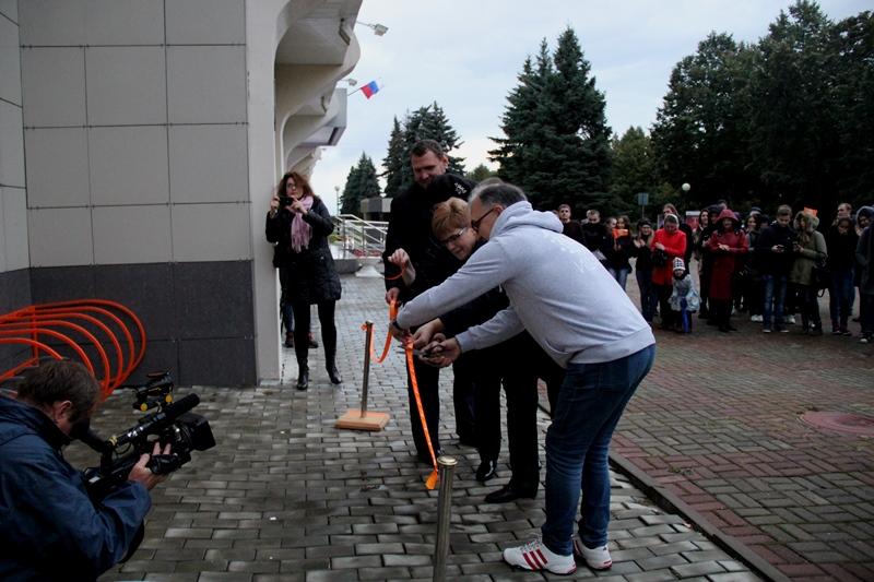 ! Ульяновск-открытие велопарковки имени Эйнштейна